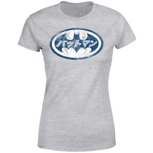 DC Comics Batman Japanese Logo Women's T-Shirt - Grey