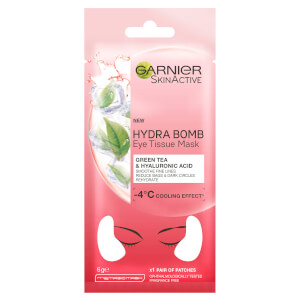 Garnier SkinActive Hydra Bomb Eye Tissue Mask - Green Tea (1 Pair)