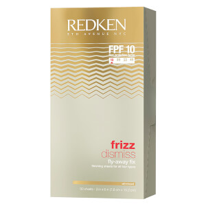 Redken Frizz Dismiss Fly-Away Fix Finishing Sheets (50 Sheets)