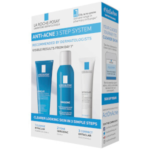 La Roche-Posay Anti-Acne 3 Step System Treatment 315ml