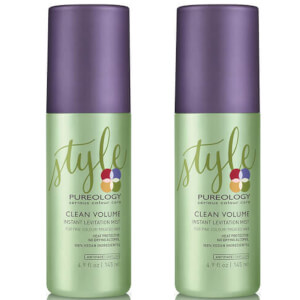 Dúo bruma Clean Volume Levitation de Pureology (145 ml)