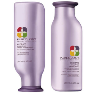 Pureology Hydrate Colour Care duo di shampoo e balsamo idratante per capelli colorati 250 ml
