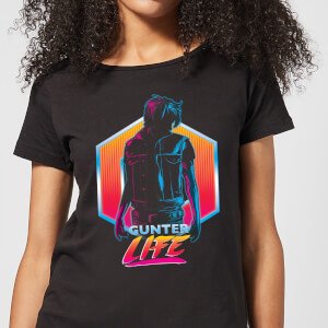 Ready Player One Gunter Life Dames T-shirt - Zwart