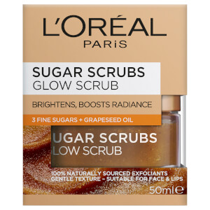 L'Oreal Paris Sugar Scrubs Glow Scrub (Gold)