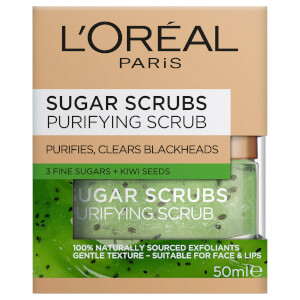 L'Oreal Paris Sugar Scrubs Purifying Scrub (Green)