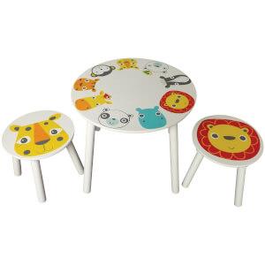 Kidsaw Safari Table & 2 Stools