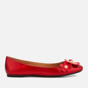 Marc Jacobs Women's Daisy Ballerina Flats - Red