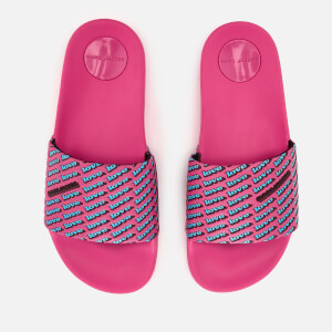Marc Jacobs Women's Love Aqua Slide Sandals - Fuchsia/Multi