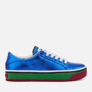 Marc Jacobs Women's Empire Multi Colour Sole Trainers - Blue/Multi