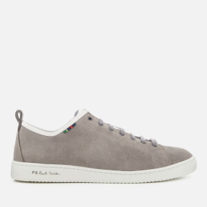 PS Paul Smith Men's Miyata Suede Cupsole Trainers - Grey