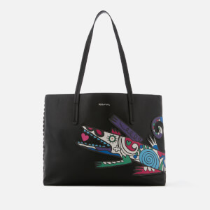 Paul Smith Women's Croc Mini Shopper Bag - Black