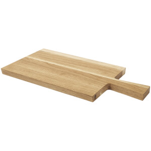 Broste Copenhagen Tyra Square Chopping Board - Oak - 25cm x 35cm