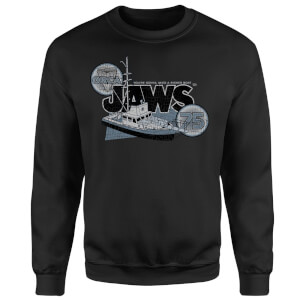 Jaws Orca 75 Sweatshirt - Black