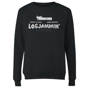 The Big Lebowski Logjammin Damen Pullover - Schwarz