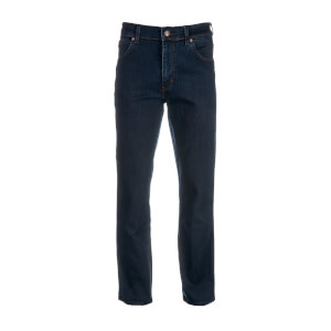 Wrangler Men's Texas Original Regular Straight Leg Jeans - Blue Black
