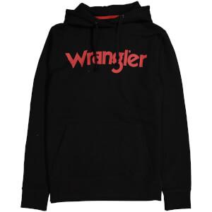 Wrangler Men's Logo Hoody - Black