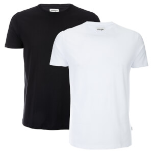 Wrangler Men's 2 Pack T-Shirt - Black