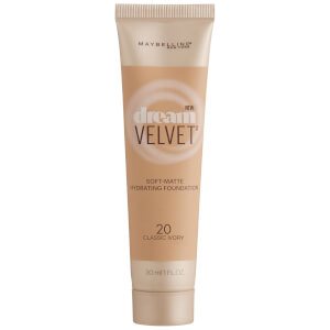 Maybelline Dream Velvet Foundation 30ml (Various Shades)