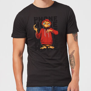 ET Phone Home Stylised T-Shirt - Black