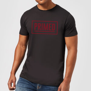 Primed Box Logo T-Shirt - Black