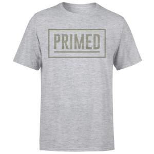 Primed Box Logo T-Shirt - Grey