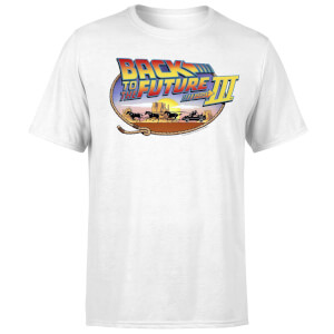 Back To The Future Lasso T-Shirt - White