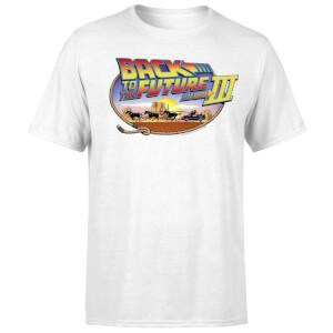 T-Shirt Homme Retour vers le Futur - Lasso - Blanc