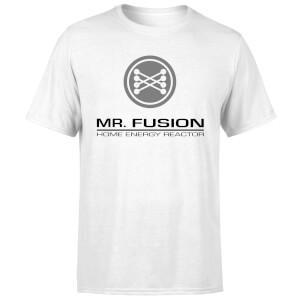 T-Shirt Homme Retour vers le Futur - Mr Fusion - Blanc