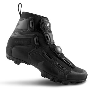 Lake MX145 Wide Fit MTB Boots - Black
