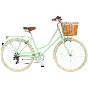 "Ryedale Hermione Ladies 26"" Wheel 7 Speed Traditional Bike Peppermint"