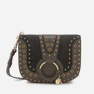 See By Chloé Women's Hana Stud Cross Body Bag - Lava Brown
