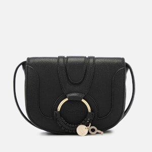 See By Chloé Women's Hana Leather Small Cross Body Bag - Black