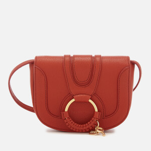 See By Chloé Women's Hana Leather Cross Body Bag - Red Sand