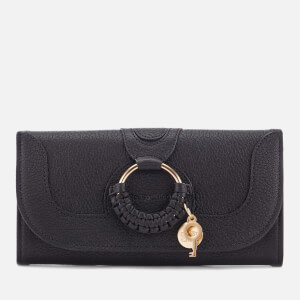 See By Chloé Women's Hana Long Wallet - Black
