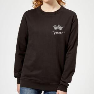 Queens Crown Women's Sweatshirt - Black
