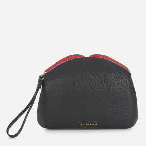 Lulu Guinness Women's Peekaboo Lip Clover Clutch Bag - Black