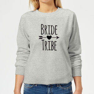 Bride Tribe Women's Sweatshirt - Grey