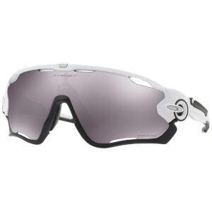 Oakley Jawbreaker Sunglasses - Polished White/Prizm Black
