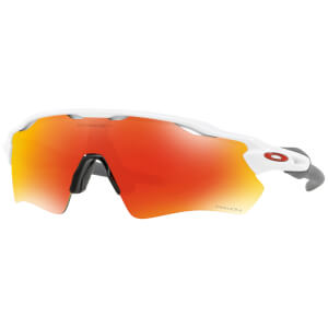Oakley Radar EV Path Sunglasses - Polished White/Prizm Ruby