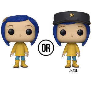 Coraline in Raincoat Pop! Vinyl Figure