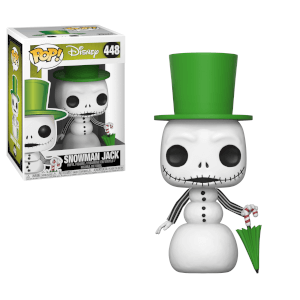 Nightmare Before Christmas Snowman Jack Pop! Vinyl Figur