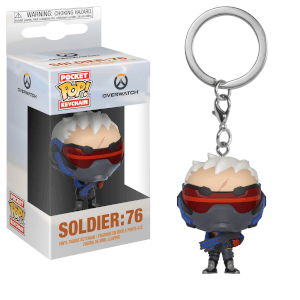 Overwatch Soldier: 76 Funko Pop! Keychain