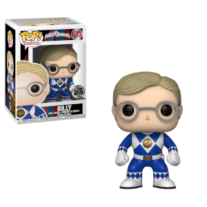 Figura Funko Pop! Ranger Azul Billy - Power Rangers