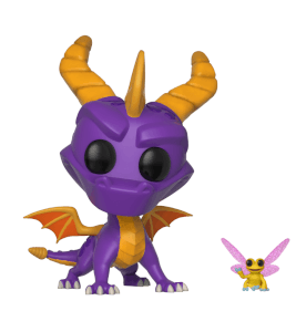 Spyro the Dragon con Sparx Figura Pop! Vinyl