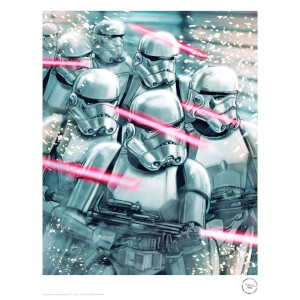 Star Wars The Original Stormtrooper Attack Print