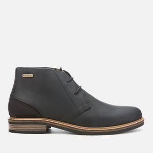 Barbour Men's Readhead Leather 2-Eye Chukka Boots - Black