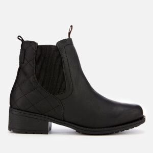 Barbour Women's Rimini Weather Proof Quilted Chelsea Boots - Black