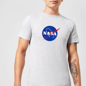 NASA Logo Insignia T-Shirt - Grey