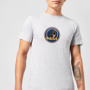 NASA JM Patch T-shirt - Grijs