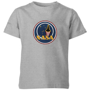 NASA JM Patch Kinder T-Shirt - Grau
